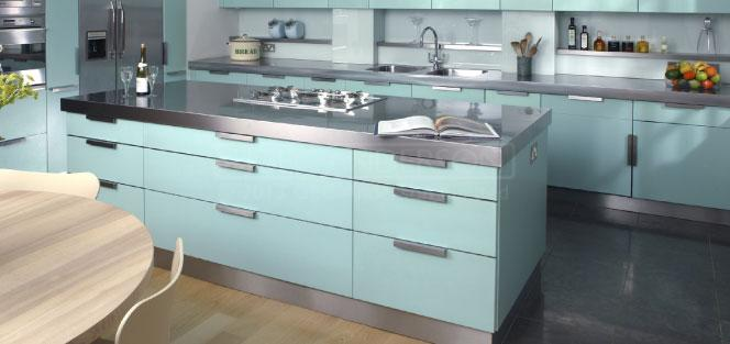 Stainless Steel Kitchen Units Made To Measure